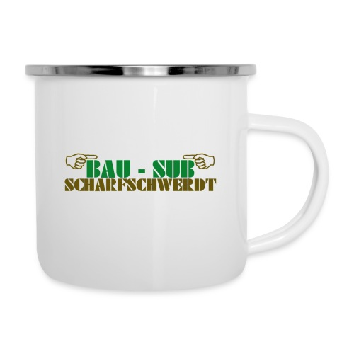 BAU-SUB Scharfschwerdt - Emaille-Tasse