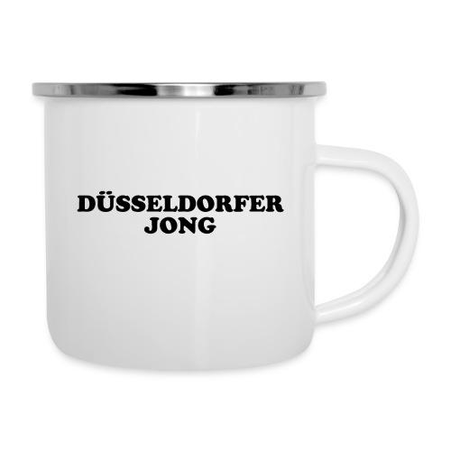 Düsseldorfer Jong - Emaille-Tasse