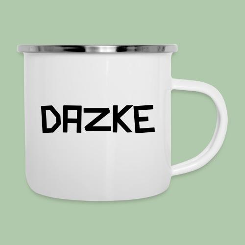 dazke_bunt - Emaille-Tasse