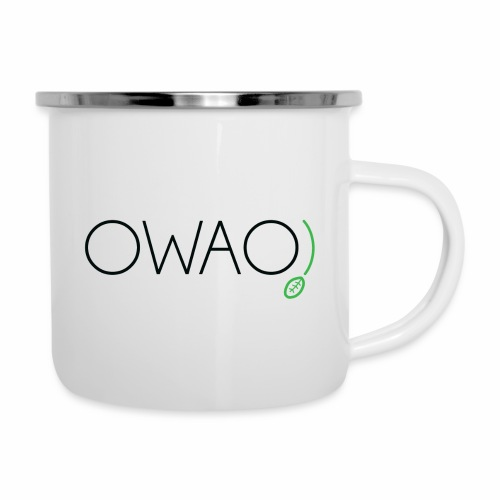 OWAO! Oh là là! - Emaille-Tasse