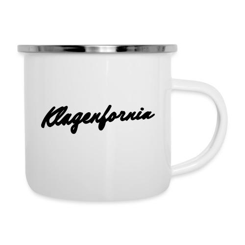 klagenfornia classic - Emaille-Tasse