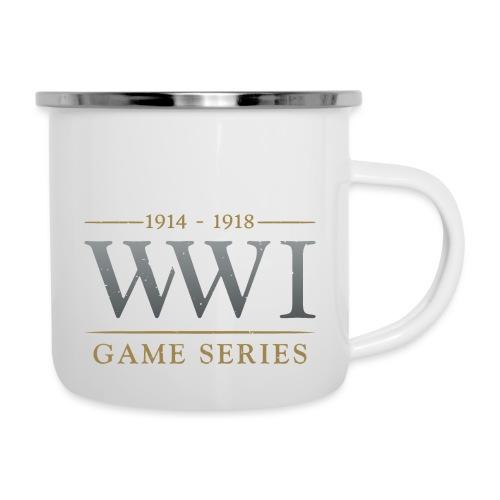 WW1 Game Series Logo - Emaille mok