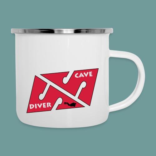 cave_diver_01 - Tasse émaillée