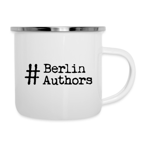 BerlinAuthors Logo Black - Emaille-Tasse