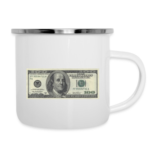 Dollar tegn box - Emaljekrus