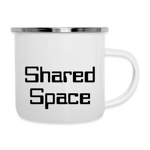 Shared Space - Emaille-Tasse