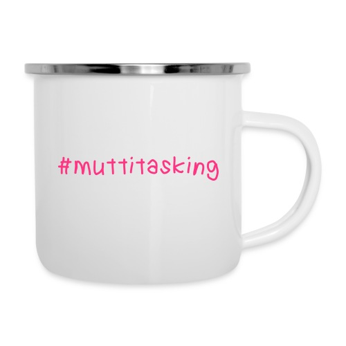 muttitasking - Emaille-Tasse