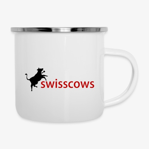 Swisscows - Emaille-Tasse
