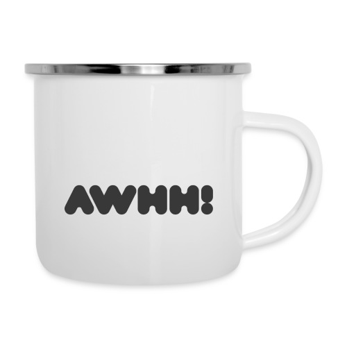 awhh - Emaille-Tasse