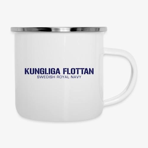 Kungliga Flottan - Swedish Royal Navy - Emaljmugg