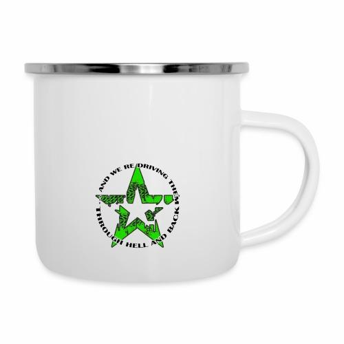 ra star slogan slime png - Emaille-Tasse