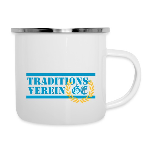 Traditionsverein - Emaille-Tasse