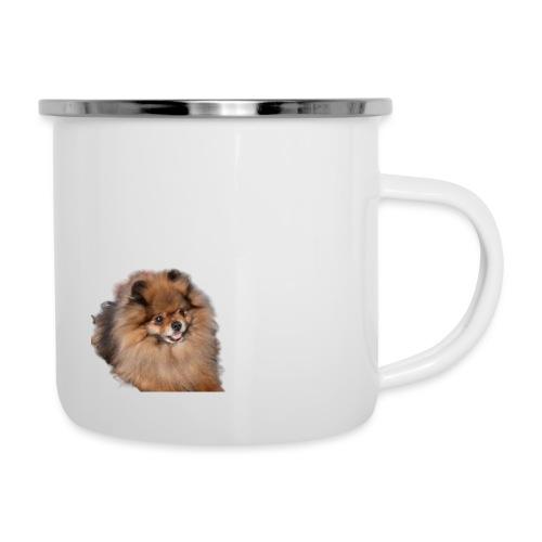 Pomeranian - Emaljmugg