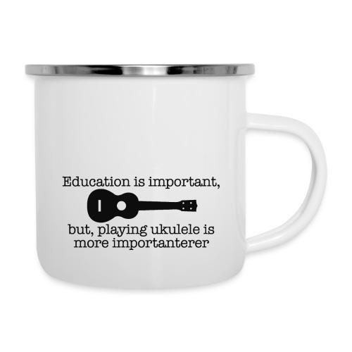 Important Ukulele - Camper Mug