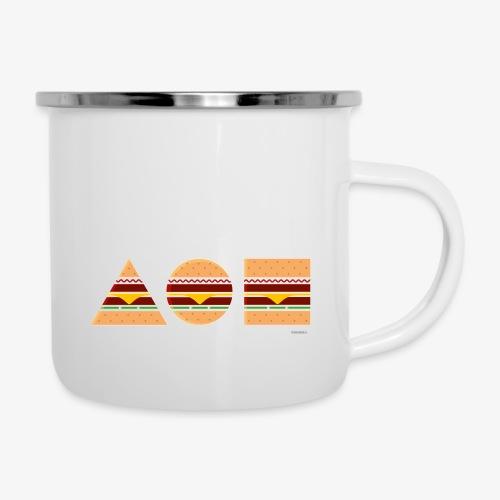 Graphic Burgers - Tazza smaltata
