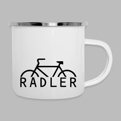 RADLER - Emaille-Tasse