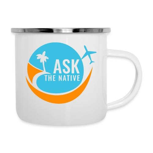 Ask the Native Original Logo - Emaille mok