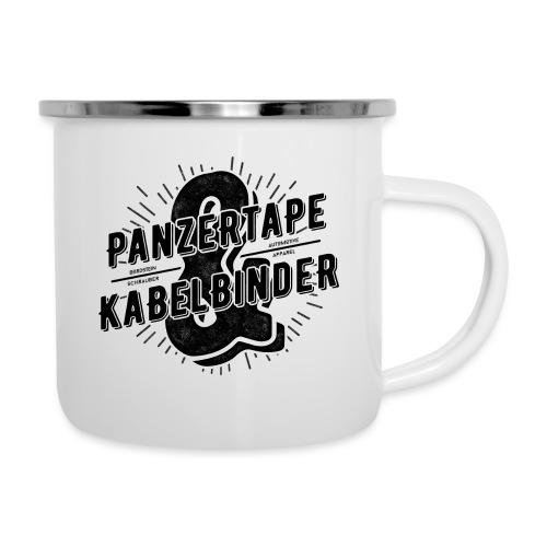 BRDSTN Panzertape & Kabelbinder - Emaille-Tasse