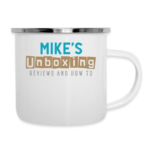 Mikesunboxing Classic Logo - Camper Mug