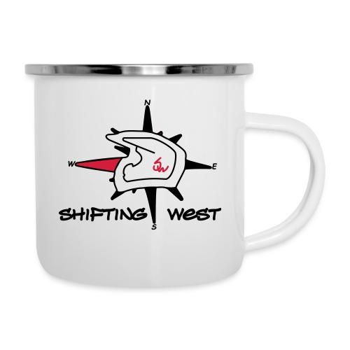 Shifting West Logo vector - Emaille mok