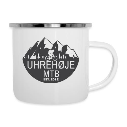 UhreHøje MTB - Emaljekrus