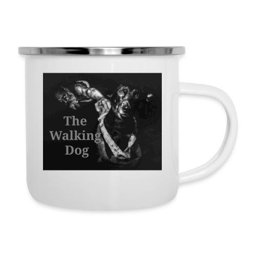 The Walking Dog - Emaille-Tasse