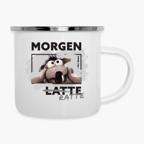 Rolf Rüdiger Morgenratte - Emaille-Tasse