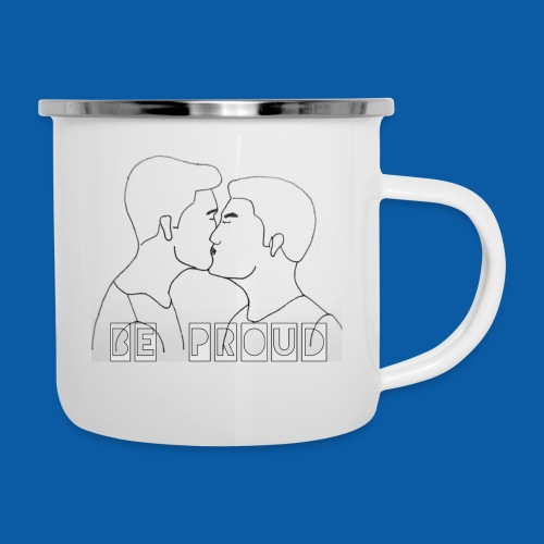 Gay Male Edition - Emaille-Tasse