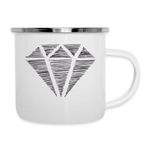 Diamante - Taza esmaltada