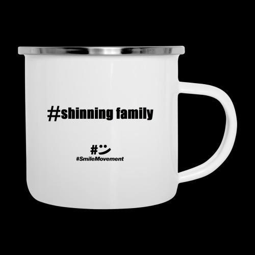 shinning family - Tasse émaillée
