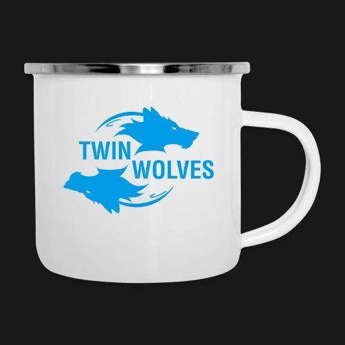 Twin Wolves Studio - Tazza smaltata