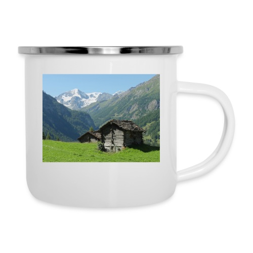 Mountain - Emaille-Tasse