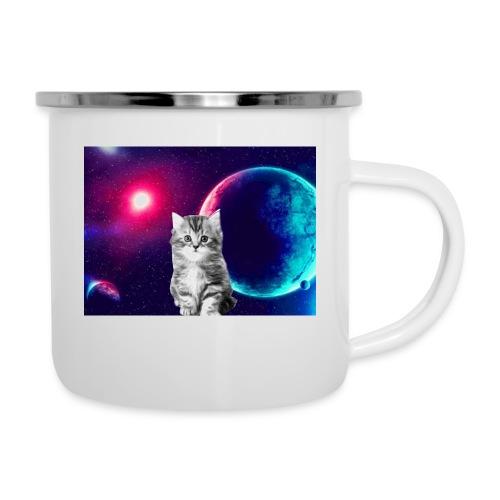 Cute cat in space - Emalimuki