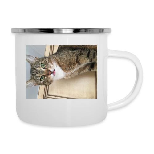 Kotek - Kubek emaliowany