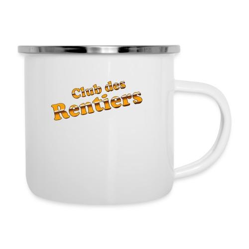 logo CDR HD - Tasse émaillée