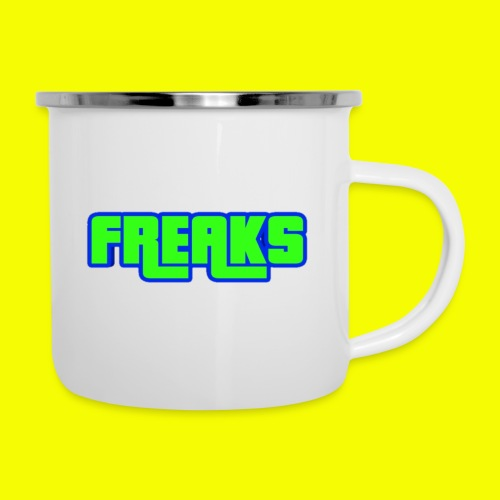 YOU FREAKS - Emaille-Tasse