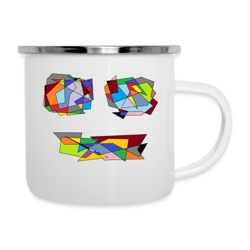 TheFace - Emaille-Tasse