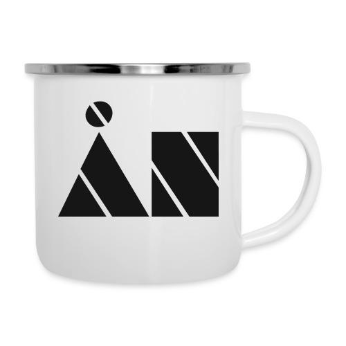 Ån logo - Emaljmugg