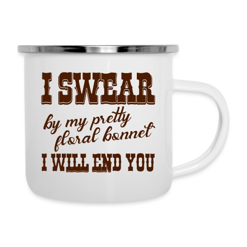 i swear - Emaille-Tasse