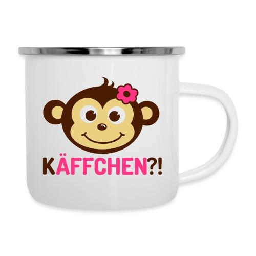Monkey Käffchen Girl 3 - Emaille-Tasse