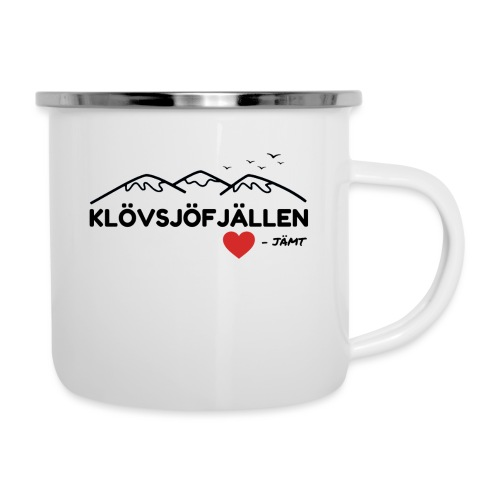 Klövsjöfjällen - Emaljmugg