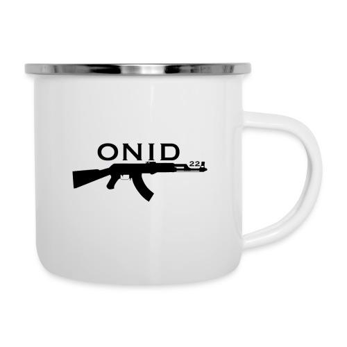 logo ONID-22 nero - Tazza smaltata