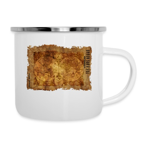 map of the world 2241469 1920 - Emaille-Tasse