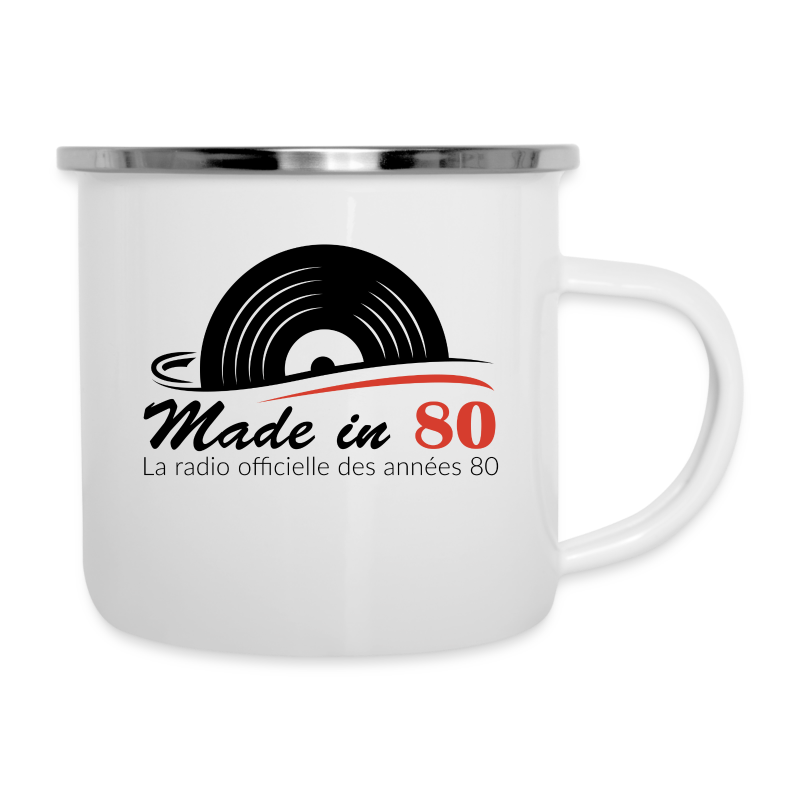 Made in 80 - Tasse émaillée