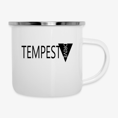 Tempest Drive: Full Logo - Emaljekrus