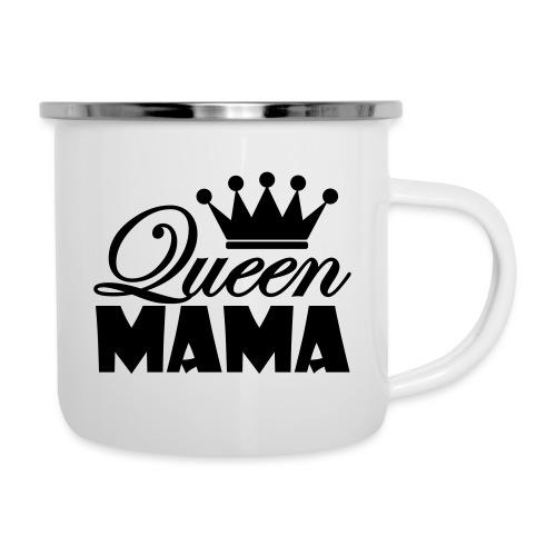 queenmama - Emaille-Tasse