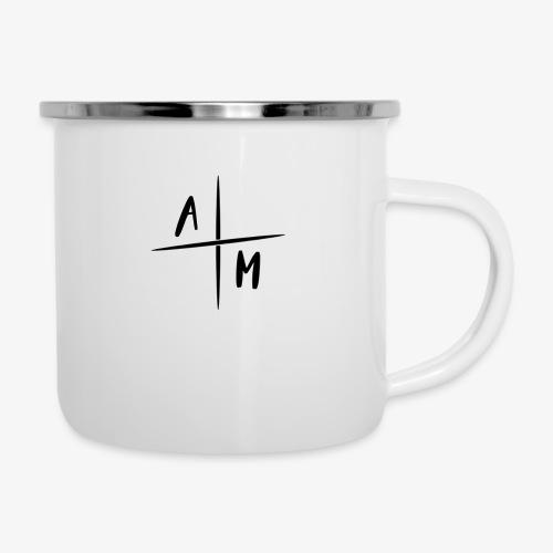 AM Cross Logo - Emaille mok