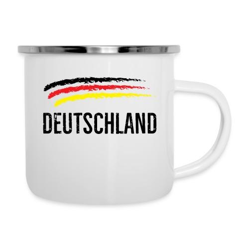 Deutschland, Flag of Germany - Camper Mug