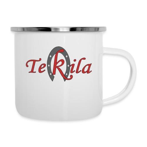TEKILA clasico - Taza esmaltada