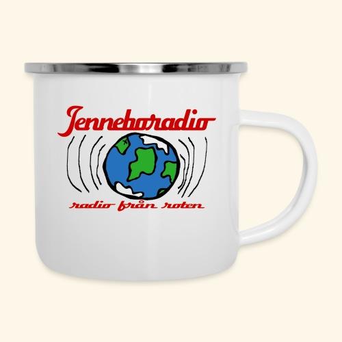 Jenneboradio -Sveriges minsta radiostation - Emaljmugg